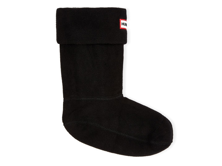 Hunter Short Boot Sock Black  UAS3011AAA-BLK
