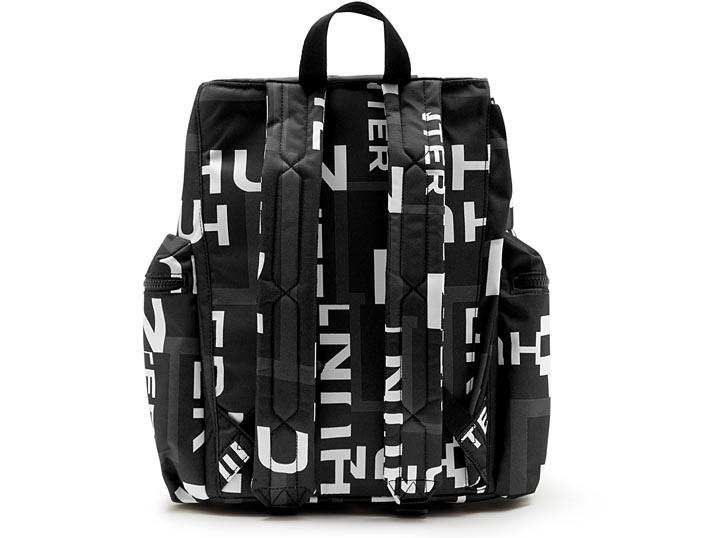 Hunter Top Clip Backpack Nylon - Original Onyx Exploded Logo   UBB6017NSP-OEL