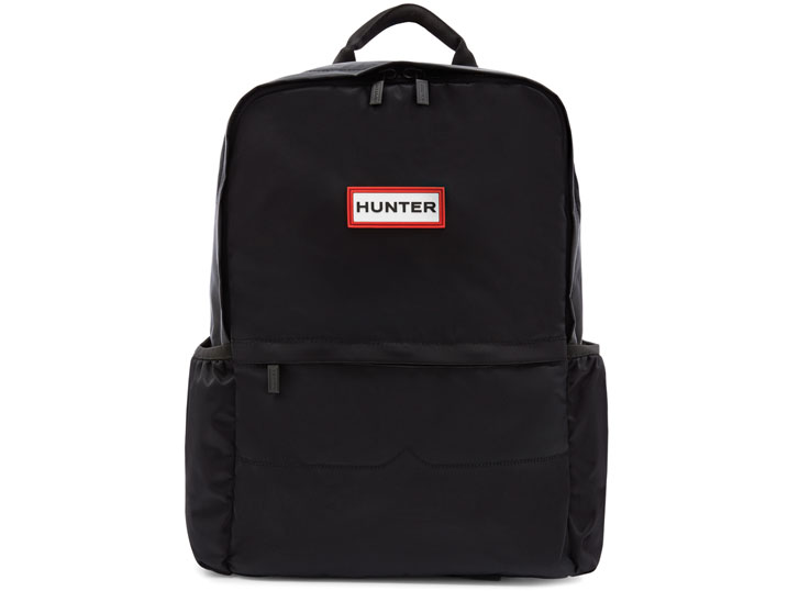 Hunter Backpack 6028 Nylon Black  UBB6028KBM-BLK