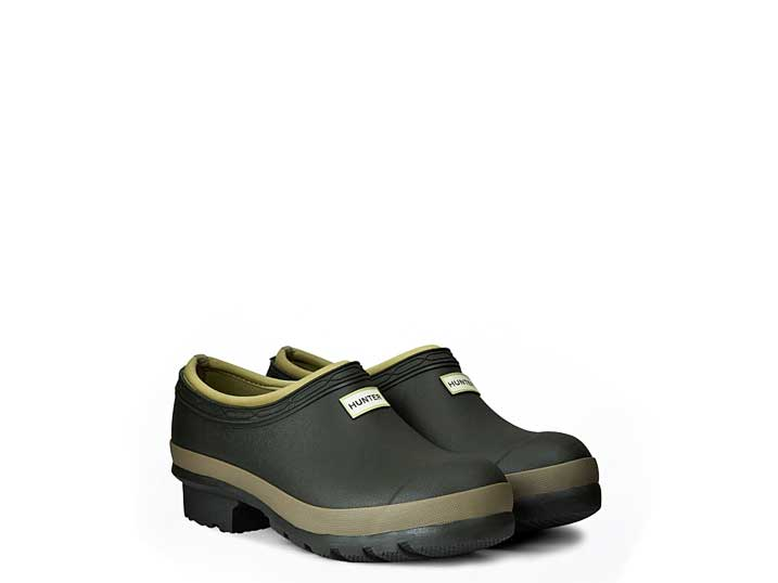 Hunter Dames Gardener Clogs  WFF1016RMA-DOC