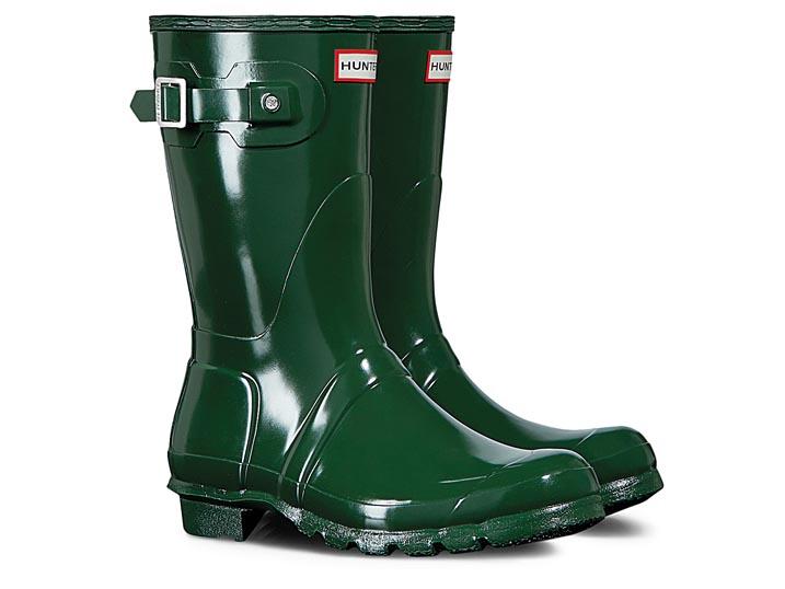 Hunter Dameslaars Gloss Hunter Green Short  WFS1000RGL-HGR