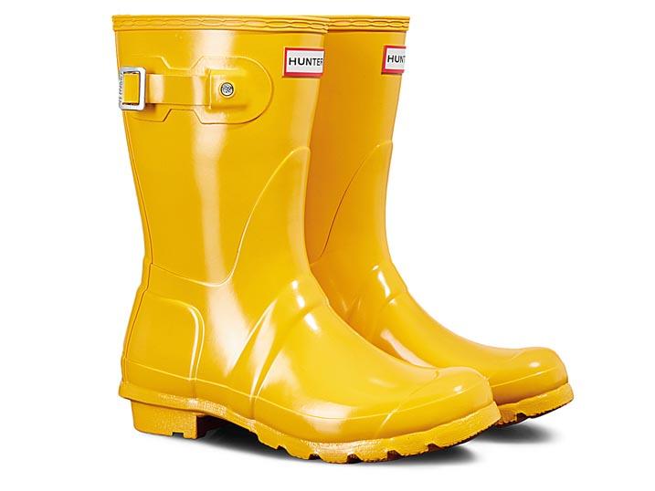 Hunter Dameslaars Original Short Gloss Yellow  WFS1000RGL-RYL