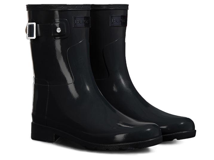 Hunter Dameslaars Original Refined Short Gloss Black  WFS1098RGL-BLK