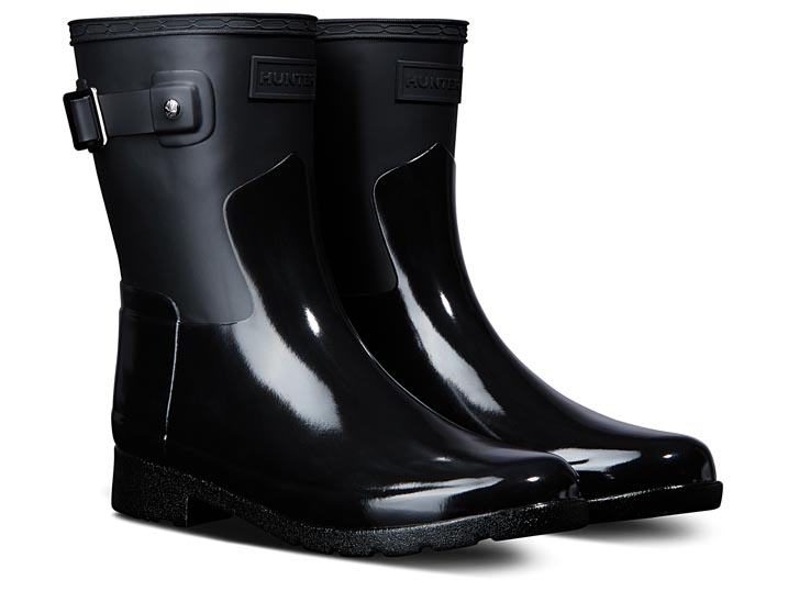 Hunter Dameslaars Refined Short Gloss Duo Black  WFS2044DUO-BLK
