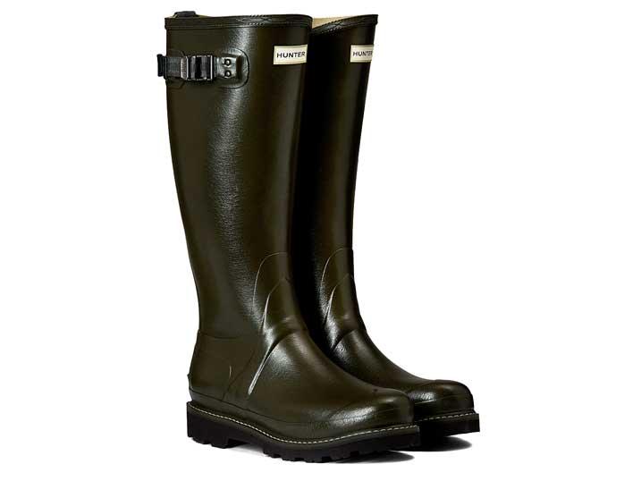 Hunter Dameslaars Balmoral Poly-Lined Dark Olive  WFT1065RPO-DOV