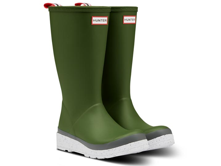 Hunter Dameslaars Play Tall Speckle Sole Scottish Moss  WFT2079RMA-SMS