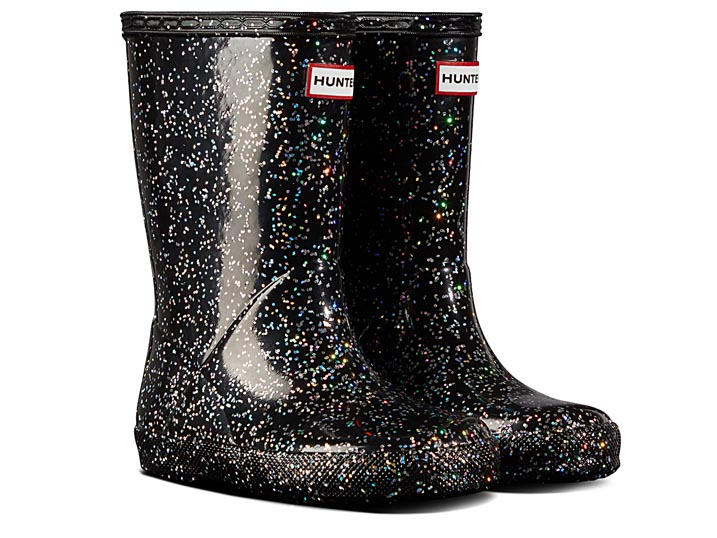Hunter Kinderlaars Original First Classic Giant Glitter