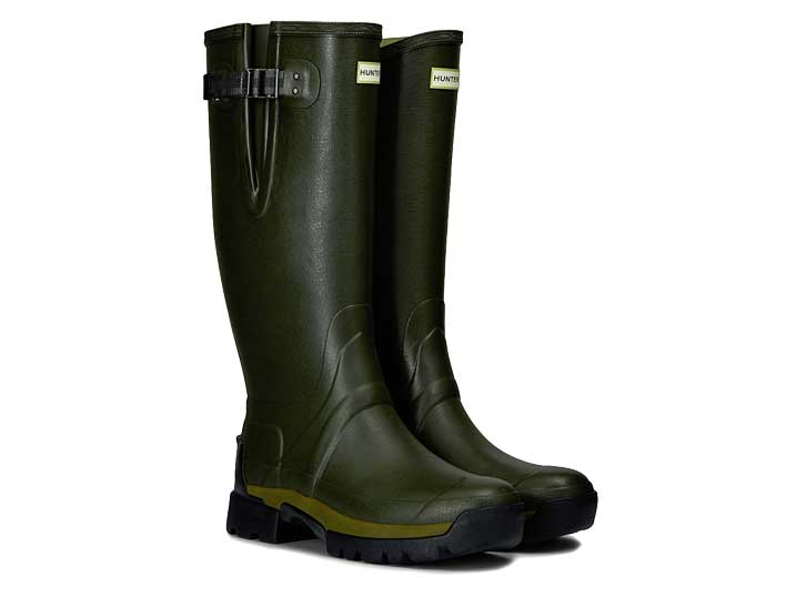 Hunter Herenlaars Balmoral II Side Adjustable Dark Olive