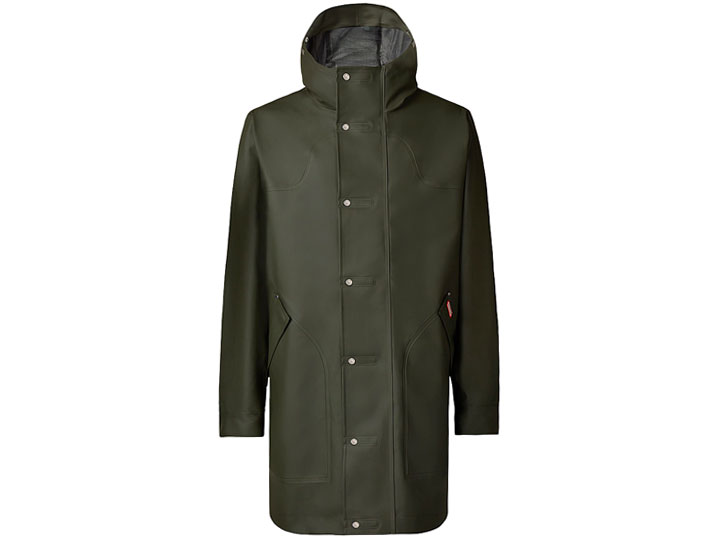 Hunter Herenjas Rubber Hunting Dark Olive