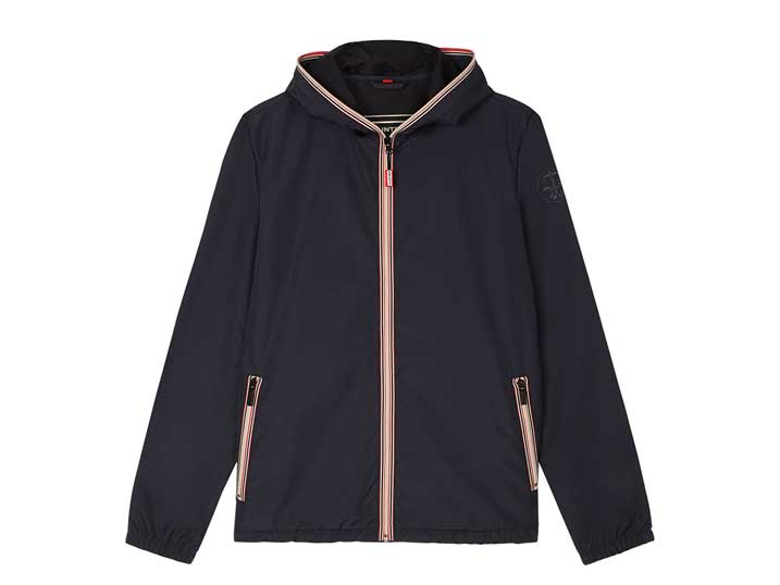 Hunter Mens Original Shell Jacket Navy