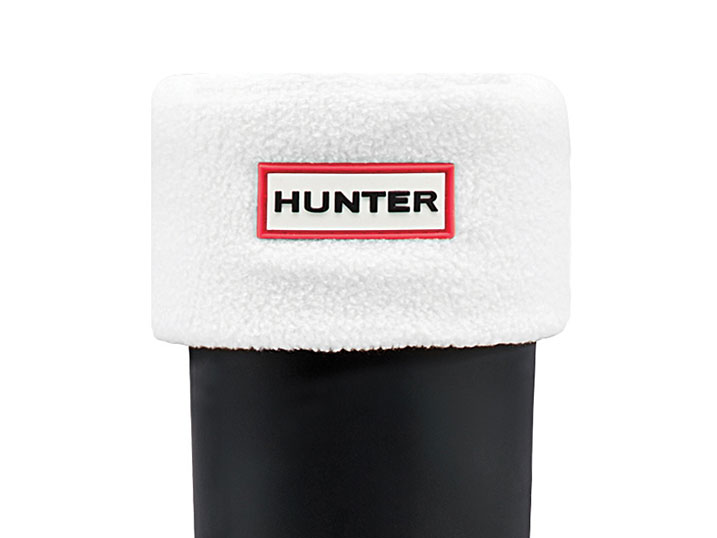 Hunter Boot Sock White