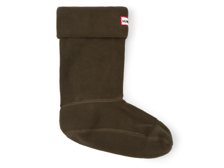 Hunter Short Boot Sock Dark Olive
