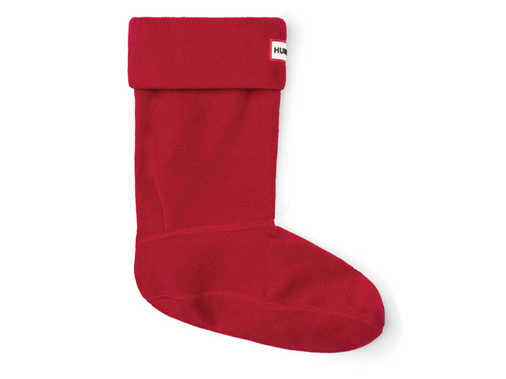 Hunter Short Boot Sock Military Red