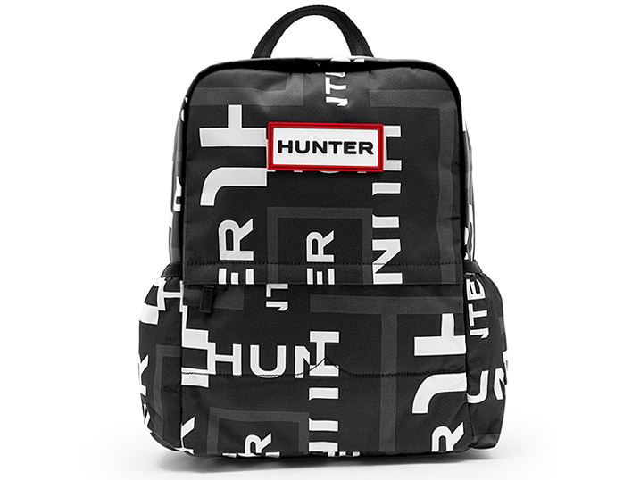 Hunter Backpack Nylon - Original Onyx Exploded Logo