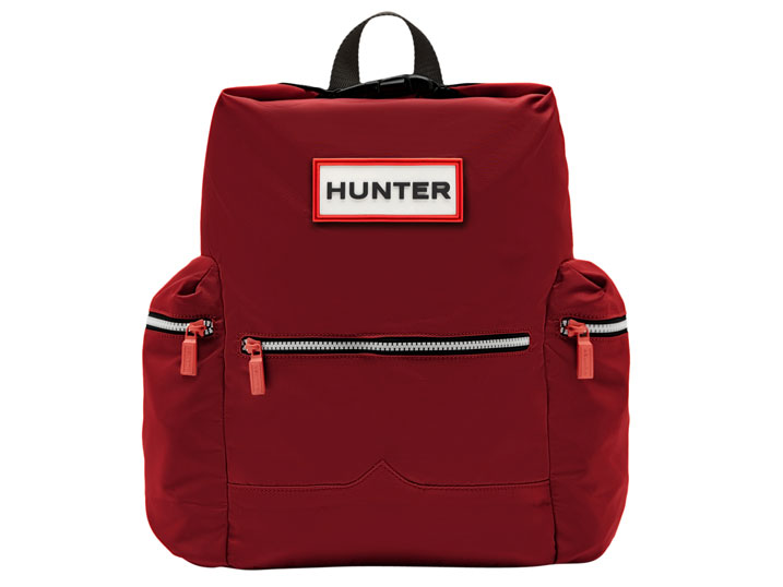 Hunter Top Clip Backpack Nylon Military Red