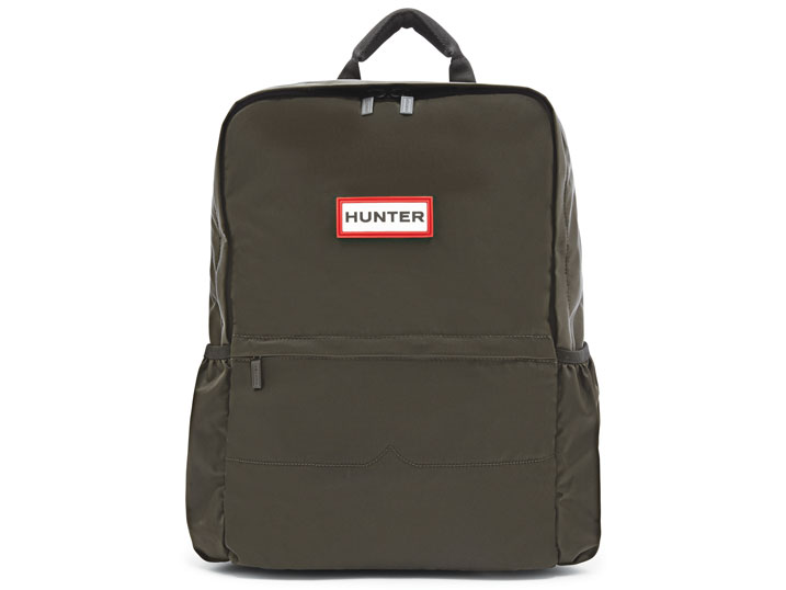 Hunter Backpack Nylon Dark Olive
