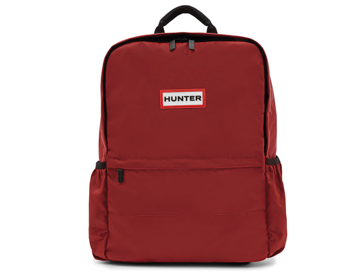 Hunter Backpack Nylon Military Red Large