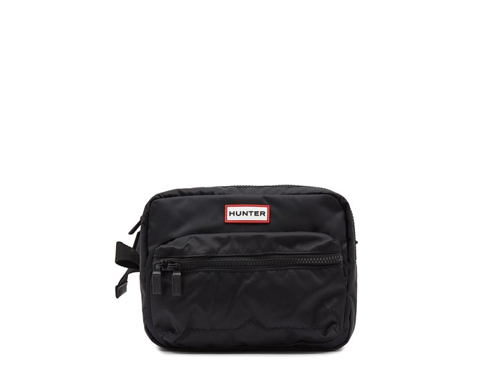 Hunter Original Nylon Crossbody Bumbag Black