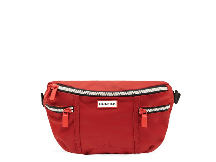 Hunter Original Nylon Bumbag Military Red