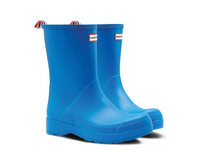 Hunter Dameslaars Play Boot Bucket Blue Short