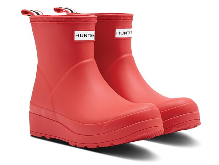 Hunter Dameslaars Play Boot Short Logo Red