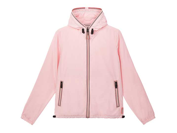 Hunter Womans Original Shell Jacket Candy Floss