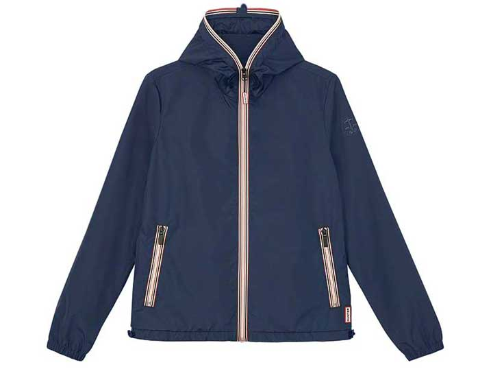 Hunter Womans Original Shell Jacket Navy